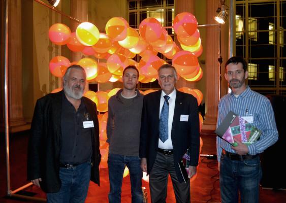 Unit Cell Presented To Nobel Laureate  Prof. Dan Shecthman